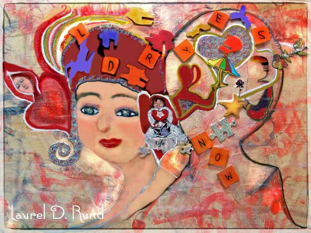Inspirational poem about puzzles by author Laurel D. Rund